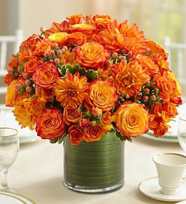 Golden Sunset Centerpiece