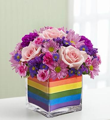 The Rainbow Bouquet