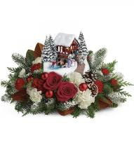 2018 Thomas Kinkade\'s Snowfall Dreams Bouquet