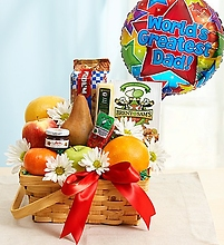 Fruit and Gourmet Basket for Dad