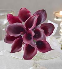 Purple Elegance Mini Calla Lily Bouquet