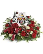 2020 Thomas Kinkade\'s Hero\'s Welcome Bouquet