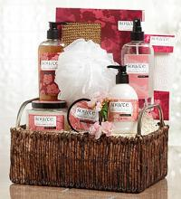 Imperial Cherry Spa Basket