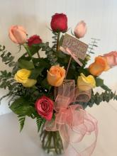 Assorted Roses for Mother\'s Day