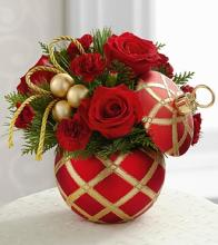 The Holiday Greetings Bouquet