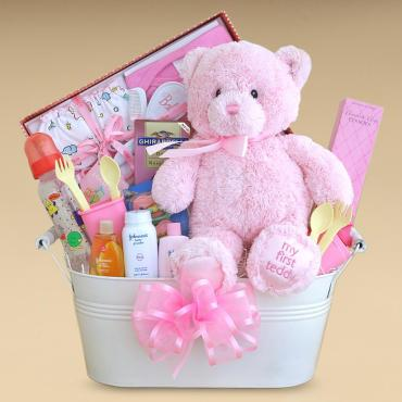 Baby Girl Basket