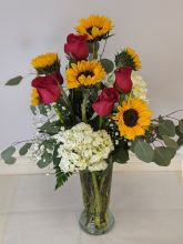 Designers Choice with Sunflowers